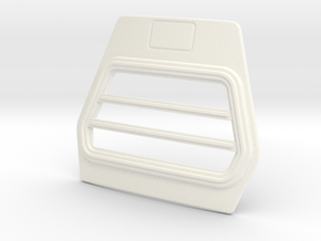 DAF-Grill-A-1to12 in White Processed Versatile Plastic