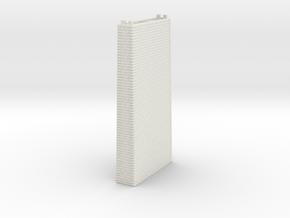 NV2M6 Modular viaduct 2 tracks in White Natural Versatile Plastic