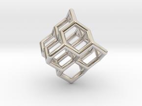 Diamond structure (tiny) in Platinum