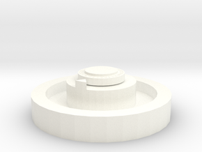 Magic the Gathering Level Counter in White Processed Versatile Plastic