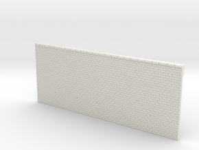 NPV01 Supporting walls in White Natural Versatile Plastic