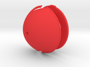 Albatros DVa Spinner - 4in diameter in Red Processed Versatile Plastic