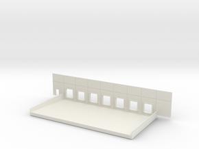 Complete Dock #4 in White Natural Versatile Plastic