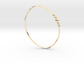 Tatiana Bracelet in 14k Gold Plated Brass