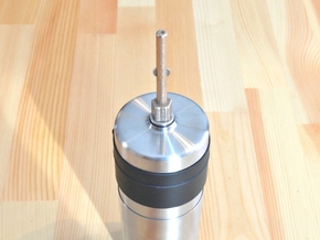 Coffee Grinder Bit For Hand Mixer CHP-J1 in Polished Bronzed Silver Steel