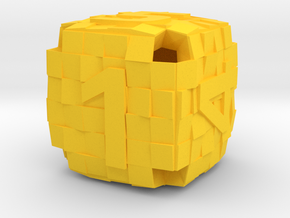 D6 Tiles in Yellow Processed Versatile Plastic