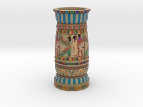 Vase Egypt in Full Color Sandstone