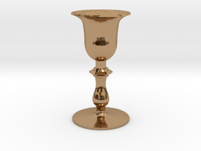Chalice in Polished Brass