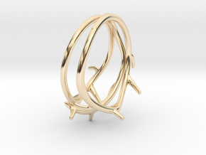 Thorn Ring No. 2 in 14K Yellow Gold: 5 / 49
