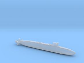 FS Le Triomphant SSBN, Full Hull, 1/2400 in Smooth Fine Detail Plastic