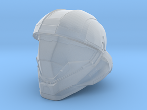 Halo 5 Buck/Helljumper 1/6 scale helmet in Frosted Ultra Detail