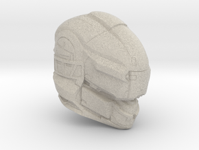 Halo 5 Gungnir 1/6 scale helmet in Natural Sandstone