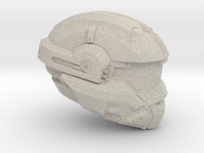 Halo 5 Noble 1/6 scale helmet in Natural Sandstone
