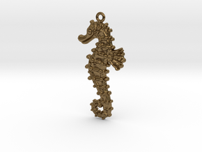 Sea Horse in Natural Bronze
