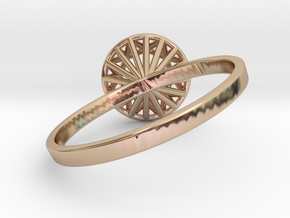 Anna size 8.5 in 14k Rose Gold Plated Brass