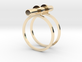 Cerc - Size 5 US in 14K Yellow Gold