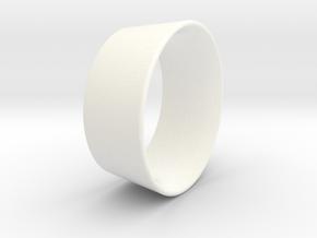 Kort Scaled ,857 in White Processed Versatile Plastic