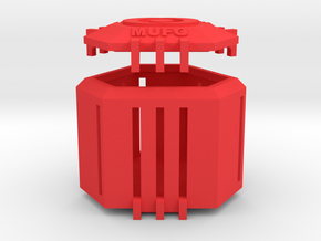 Ingress Capsule - MUFG (2.25 inches) in Red Processed Versatile Plastic