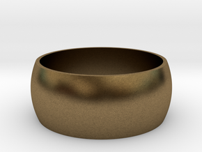 Ring Of Life 0.8in in Natural Bronze