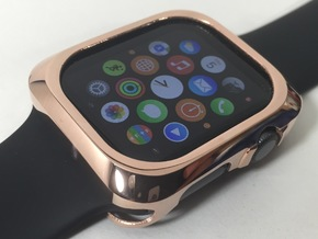 Apple Watch Metal Bumper 42mm in 14k Rose Gold Plated