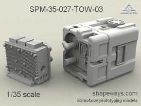 1/35 SPM-35-027-TOW-03 TOW battery in Smoothest Fine Detail Plastic