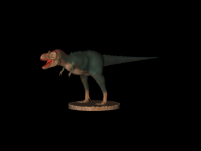 Jurassic World Story Tarbosaurus Full Color in Smooth Fine Detail Plastic