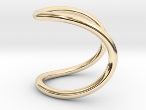 ring of infinity in 14K Gold