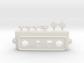 MadCatz TE/TE-S Top Panel mod in White Natural Versatile Plastic