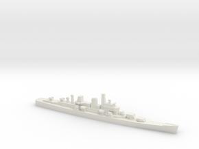Boston-Class Cruiser, 1/1800 in White Natural Versatile Plastic