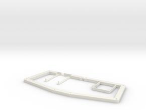 atreus_bluetooth OpenSCAD version in White Natural Versatile Plastic
