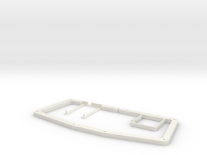 atreus_bluetooth DXF version in White Natural Versatile Plastic