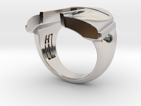 Boba Fett ring in Platinum