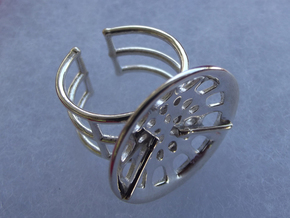 """Low Tenor """"Essence"""" Ring in Polished Silver"""