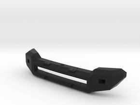 F250 Bumper for Axial SCX10 in Black Natural Versatile Plastic