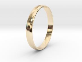 Bracelet Hustle Hard Stay Humble in 14K Gold