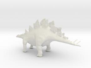 Replica Toys Dinosaurs Stegosaurus Full Color  in White Natural Versatile Plastic