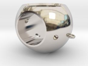 Modell 70160 Brooch (Part 3) in Platinum