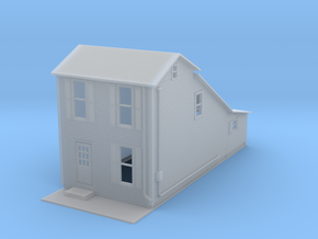 House Two Story Z Scale in Smooth Fine Detail Plastic