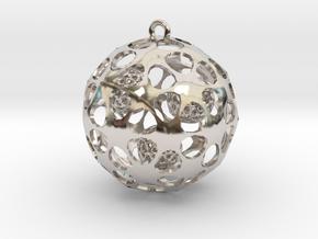 Hadron Ball - 4cm in Platinum