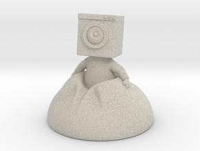 Washtronaut in Natural Sandstone