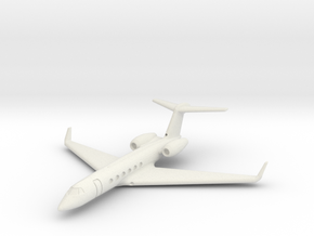 1:700 GulfStream V Business Class Jet Plane.  in White Strong & Flexible