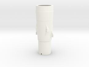 Honest John nose cone (M31) BT60 Pt2 in White Processed Versatile Plastic
