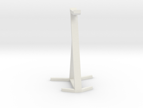 Headset Stand in White Strong & Flexible
