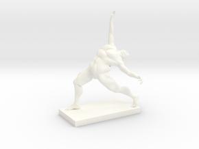 Older Man Dance Version 2 in White Processed Versatile Plastic