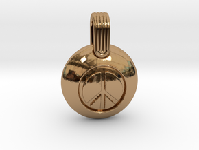 Peace in Polished Brass