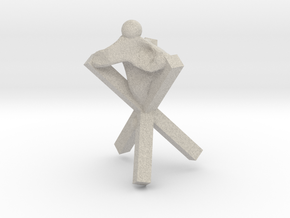 Cross in Natural Sandstone