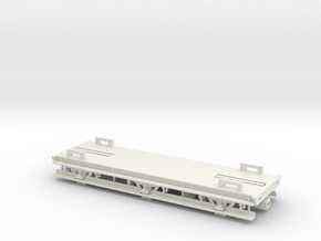 GWR 6 Wheeled Siphon Chassis (Part 1) in White Natural Versatile Plastic