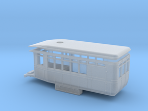 Virginia & Truckee Motor Car 99 (HO Scale) in Smooth Fine Detail Plastic