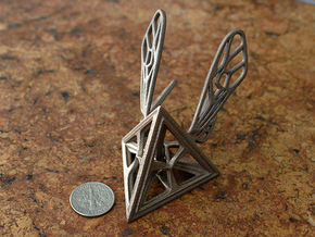 Tetra-Wasp in Stainless Steel