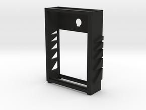 CARD DECK SMALLER in Black Natural Versatile Plastic